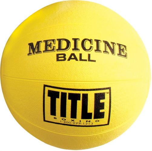 Title Title Rubber Medicine Ball Medium